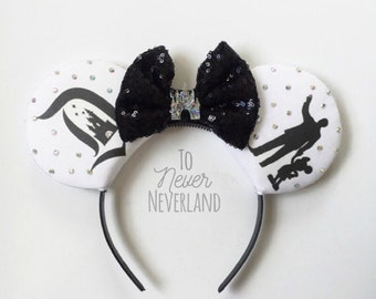 Walt Disney Mickey Ears, Disneyland Inspired Ears, Partners Ears, Vintage D Mickey Ears, Mickey Ear Headband, Disney Inspired PRE ORDER 2-3W
