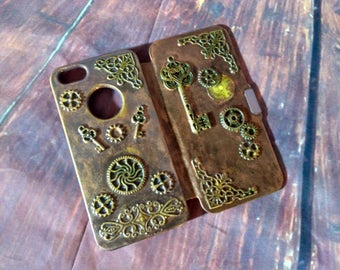 Steampunked Victorian iPhone Case