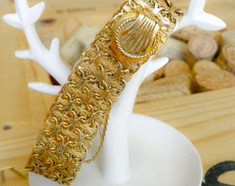 Beautiful jewelry watch bracelet GOLD 18K
