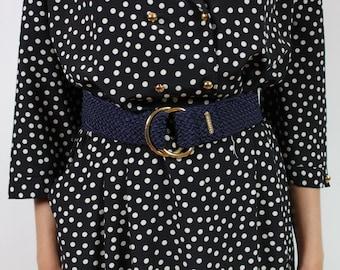 Ralph Lauren.Taille adjustable braided belt