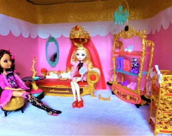 Doll Rooms by Commission for Monster High, Ever After High, Barbie, Bratz, etc (MESSAGE BEFORE PURCHASE)