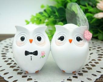 Custom Owl Wedding Cake Toppers-Unique Bride And Groom Owl Wedding Cake Toppers For Sale-Cheap Love Bird Wedding Cake Toppers