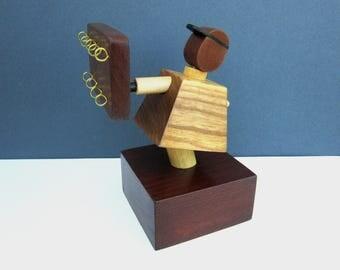 Porta oggetti legno etsy - Oggetti design legno ...