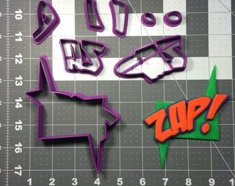Sign Zap! 100 Cookie Cutter Set