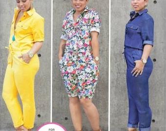 Misses Mimi G Style Jumpsuit, Sizes 6 Thru 14, New Simplicity Pattern 8060