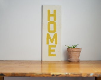 Home Farmhouse Sign // Handpainted Farmhouse Decor // Handpainted Sign