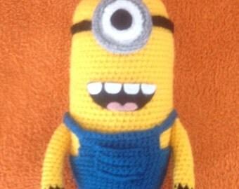 Minion crochet 25cm