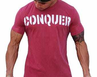 Conquer Dyed Fitted Tee