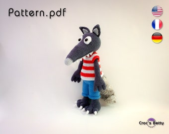 Pattern - Sheep the Wolf (inspired)