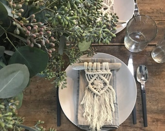 Macrame Party Favor/Wall Hanging