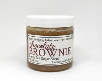 Chocolate Brownie Sugar Scrub