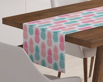 Pineapple Table Runner | Pineapple Décor | Pineapple Table Topper | Pineapple Table Linen | Pineapple Linen | Pineapple Table Décor