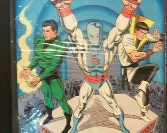 1989 Secret Origins #47  Origins of  Chemical King, Ferro Lad, Karate Kid , Legion Of Super-Heroes Good- VG- Vintage DC Comic Book