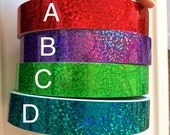 Tape Roll Set of 4 CHOOSE YOUR COLORS