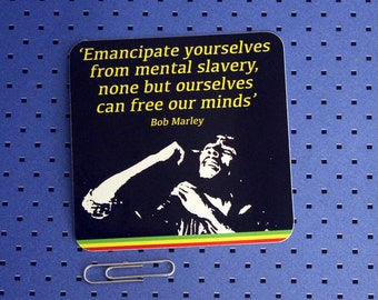 Emancipate Yourselves From Mental Slavery Bumper Sticker