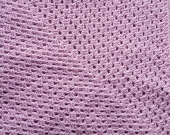 Lavender Baby Blanket