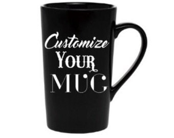 Custom coffee mug + latte mug +  personalized Coffee Cup + Create your own mug + design your own + Personalized Coffee Mug + Travel Mug