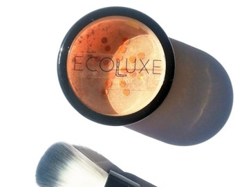 Mineral Foundation Pure Luxe|| Natural Foundation Powder Concealer Cover Up Ecoluxe Cosmetics Toronto Cruelty Free Luxury Bare Vegan Love