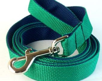 Two Tone Custom Dog Leash, 6' Long