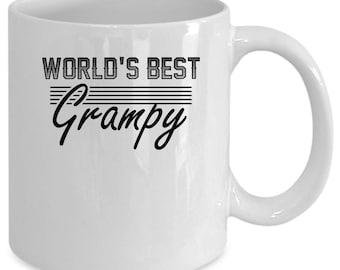 Grampy white coffee mug. Funny Grampy gift