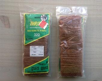 Latch Hook Rug Yarn // Rug Yarn // Rug Making supplies // Polyester Rug Yarn // Precut Hook Rug Yarn // Spinrite Yarns Canada // # 7408