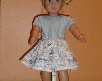 American Girl Gray Dress