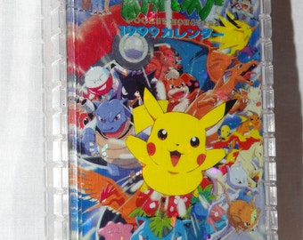 Vintage Pokeman Playing Card deck Pikachu new in case