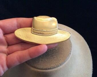 Vintage Large Goldtone Hat Pin