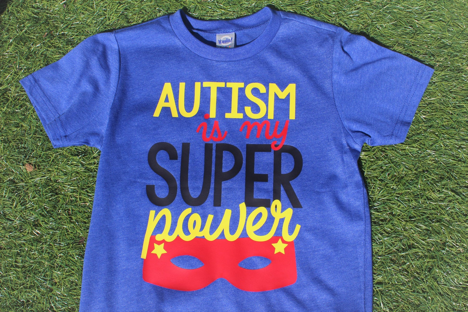 Design your own t-shirt for under $10 - Autism Is My Super Power T Shirt Design For Kids Autism Awareness Autism Shirt Autism Gift Ages 12 Months Up To Youth Support Autism