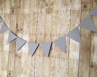 Large Pennant Banner -- Pennant Garland-- Room Decor Banner-- Nursery Decor -- House Decor-- Bunting-- Flag Banner--Flag Garland -- Large Tr