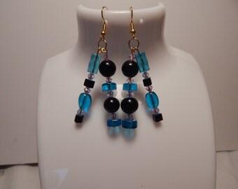Dangle Earrings, Glass Bead Earring, Fashion Earrings