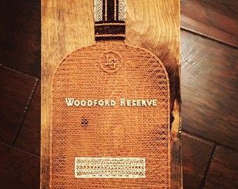 Woodford Reserve Bourbon String Art