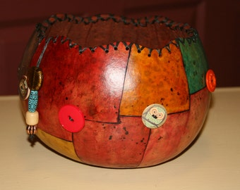 Gourd Button Bowl