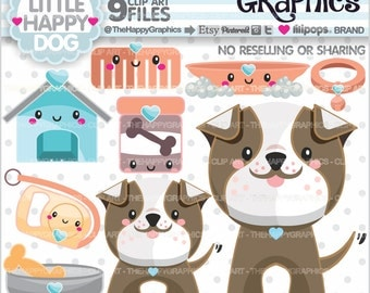 80%OFF - Dog Clipart, Dog Graphic, COMMERCIAL USE, Dog Party, Planner Accessories, Staffordshire, Bull Terrier, Bulldog, Puppy