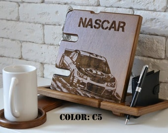 Nascar car wood stand nascar racing nascar race nascar home decor nascar gift nascar driver nascar wood nascar decal design fabric