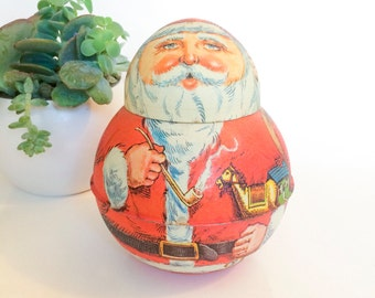 Christmas Santa Collectible Tin