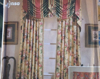 Simplicity Home valances and panels sewing pattern