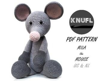 CROCHET PATTERN Mila Mouse