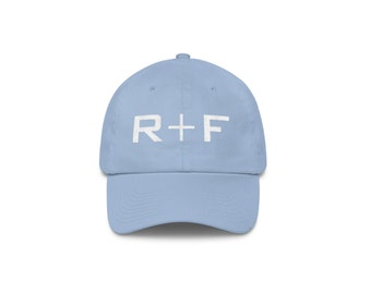 Carolina Blue Rodan And Fields Hat Embroidered, Rodan and Fields Pink Hat Unstructured 6 Panel Made in the USA