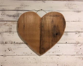 Handcrafted Heart Wall Decor