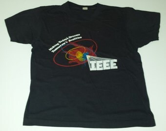 Vintage Screen Stars IEEE Institute of Electrical and Electronics Engineers  Tshirt size L