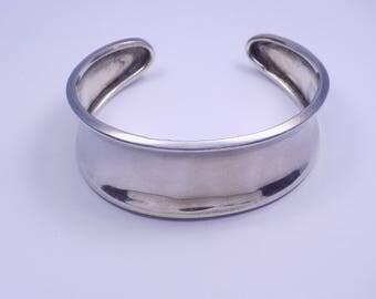 Nice sterling silver cuff bracelet