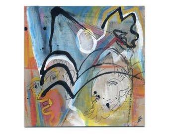 Image - abstract original 15/15 cm (5.9/5.9 inch)