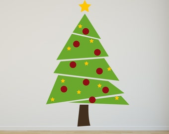 Christmas Tree - Vinyl Wall Decal