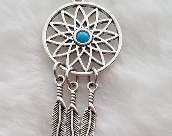 Dream Catcher Pendant - Clip-On - Ready to Wear