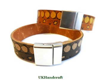 Mens Leather Bracelet, Mens Leather Bracelet Black, Mens Leather Band Bracelet, Mens Leather Bracelet Cuff, Mens Leather Bracelet Band, Cuff