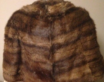 Gorgeous Faux Fur Stole