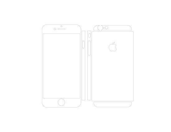 free skin iphone 6 template download