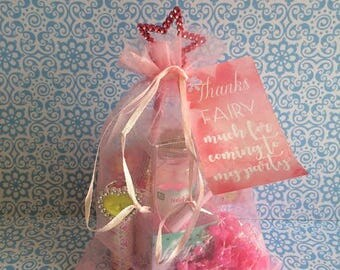 Fairy Princess Party Bag - Pre Filled - Birthday Party Favour - LOLLY FREE!
