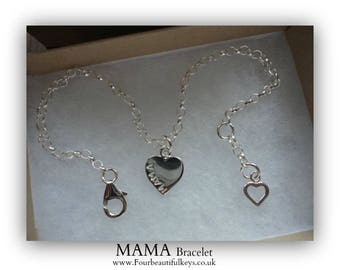 Mama Bracelet (Other words also available)